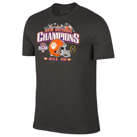 Clemson Tigers 2016 College Football National Champions All In Stadium T-Shirt