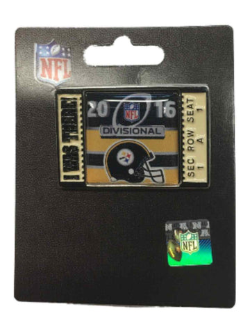 "Shop Pittsburgh Steelers 2016 AFC Divisonal Game ""I Was There!"" Metal Lapel Pin"