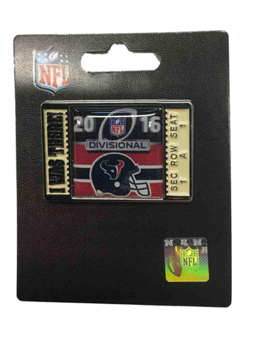 "Houston Texans 2016 AFC Divisonal Game ""I Was There!"" Metal Lapel Pin"
