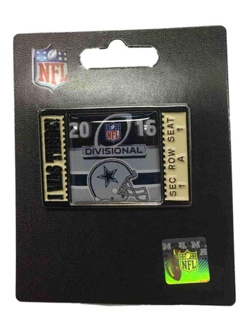 "Dallas Cowboys 2016 NFC Divisonal Game ""I Was There!"" Metal Lapel Pin"