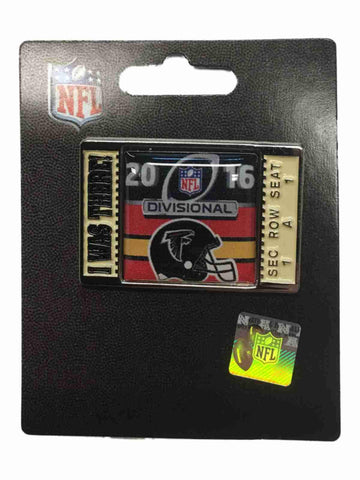 "Shop Atlanta Falcons 2016 NFC Divisonal Game ""I Was There!"" Metal Lapel Pin"