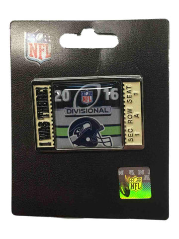 "Seattle Seahawks 2016 NFC Divisonal Game ""I Was There!"" Metal Lapel Pin"