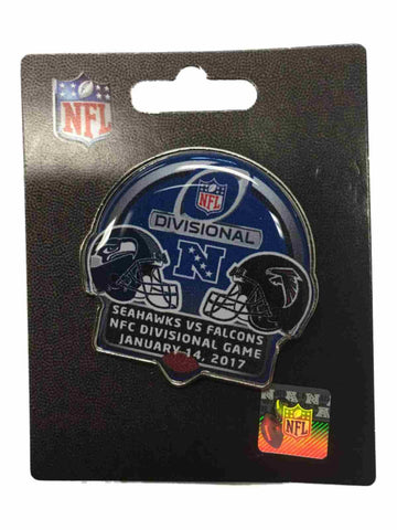 Seattle Seahawks Atlanta Falcons 2017 NFC Divisional Game Metal Lapel Pin