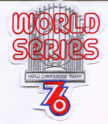 Cincinnati Reds New York Yankees 1976 World Series Jersey Sleeve Collector Patch