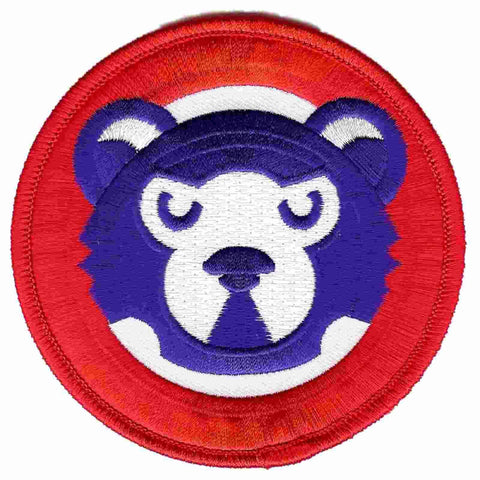 Shop Chicago Cubs Emblem Source Retro 1980s Bear Face Jersey Sleeve Collector Patch