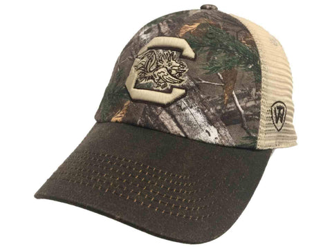 South Carolina Gamecocks TOW Camouflage Mesh Logger Adjustable Snapback Hat Cap