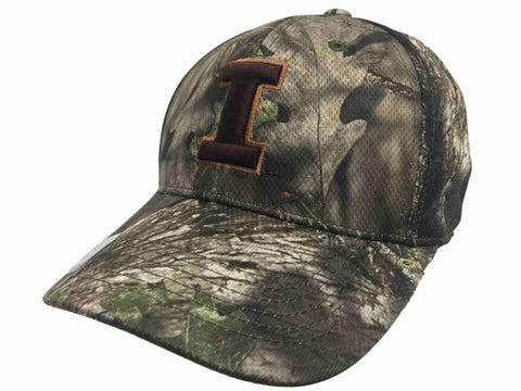 Illinois Fighting Illini TOW Mossy Oak Country Camouflage Memory Flexfit Hat Cap