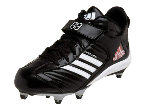 Adidas Pro Color 2 D MID Black & White Football Shoes Cleats