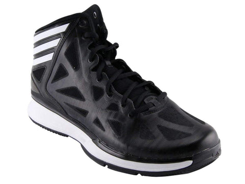 Shop Adidas Crazy Shadow 2 Women's Black & White High Top Basketball Shoes