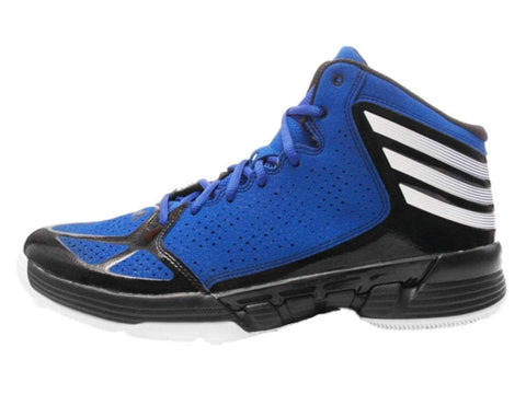209c3e3c3e3d9 Shop Adidas Mad Handle Men s Blue Black   White High Top Basketball Shoes