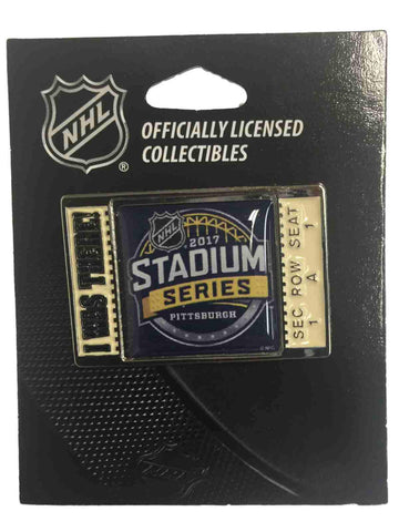 "Pittsburgh Penguins Philadelphia Flyers 2017 Stadium Series ""I Was There"" Pin"
