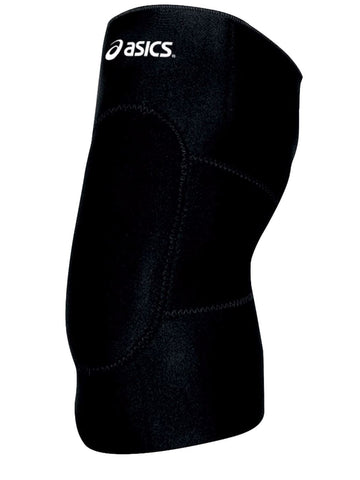 Asics Black Unisex Gel Lycra Cushioned Wrestling Sleeve-Sold in Set of 2