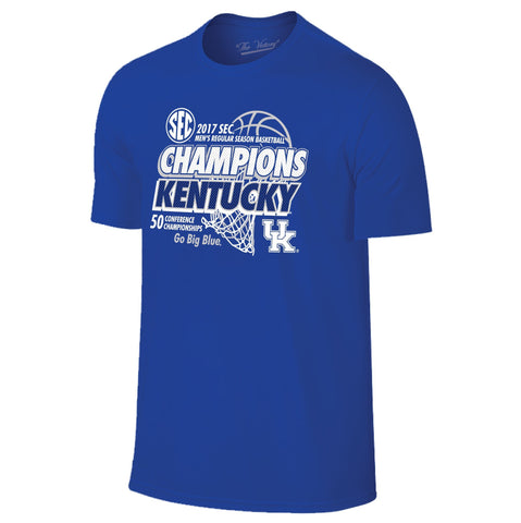 Kentucky Wildcats 2016-2017 SEC 50 Conference Basketball Championships T-Shirt