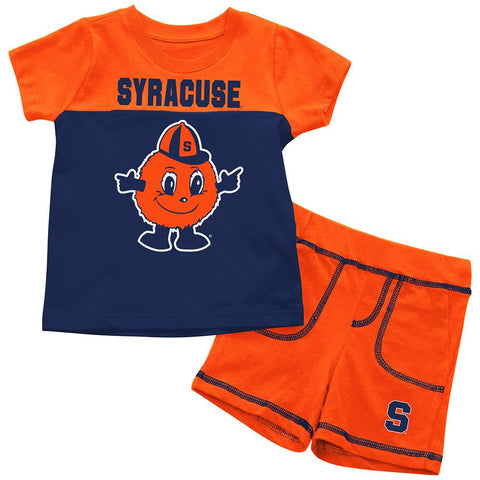Syracuse Orange Colosseum BABY INFANT Otto the Orange Shorts & Tee Outfit