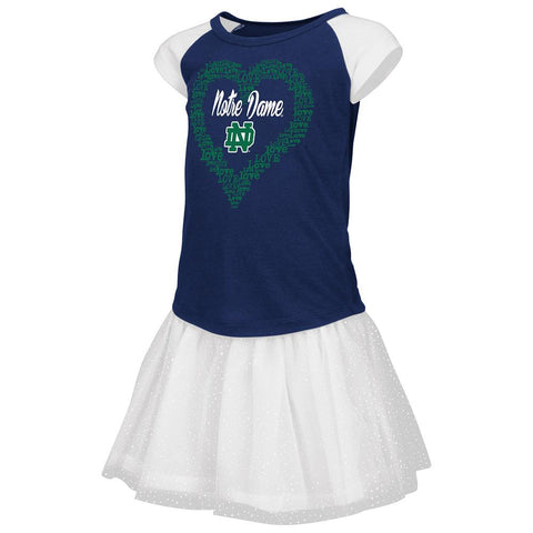Notre Dame Fighting Irish Colosseum TODDLER Girls T-Shirt & Tutu Outfit Set