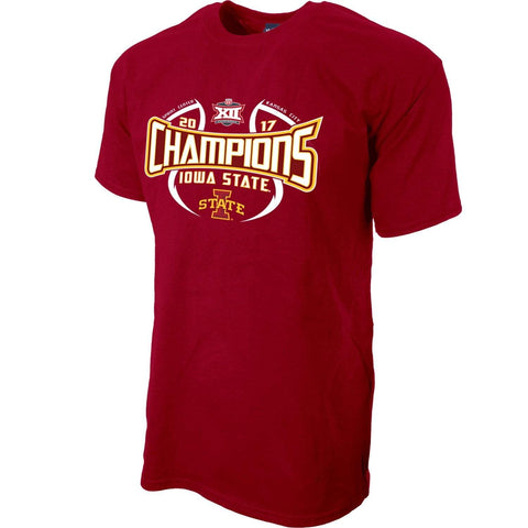 Iowa State Cyclones 2017 Big 12 Basketball Tournament Champs Locker Room T-Shirt