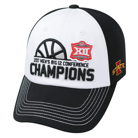 Iowa State Cyclones 2017 Big 12 Basketball Tournament Champs Locker Room Hat Cap