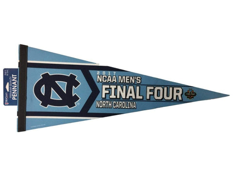 North Carolina Tar Heels 2017 NCAA Final Four Basketball Premium Felt Pennant