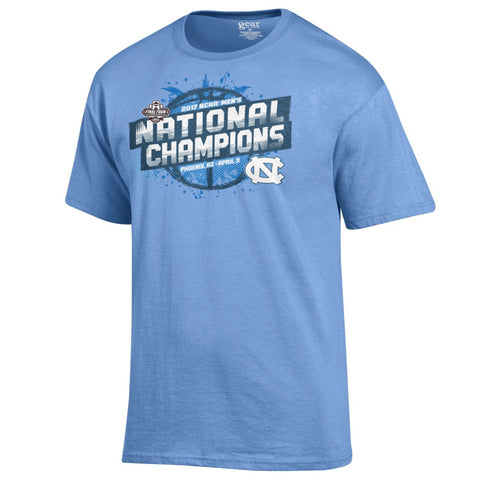 North Carolina Tar Heels Gear 2017 College Basketball National Champions T-Shirt