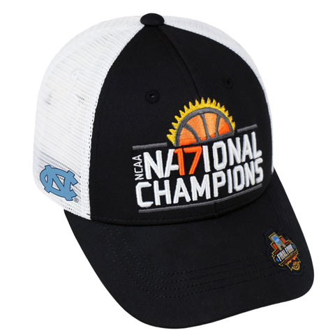 North Carolina Tar Heels 2017 College Basketball Champions Mesh Adjust Hat Cap