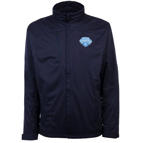 Shop North Carolina Tar Heels 2017 College Basketball Champions Zip Up Rain Jacket - Sporting Up