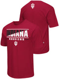 Indiana Hoosiers Colosseum Red Lightweight Breathable Active Workout T-Shirt