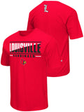 Louisville Cardinals Colosseum Red Lightweight Breathable Active Workout T-Shirt