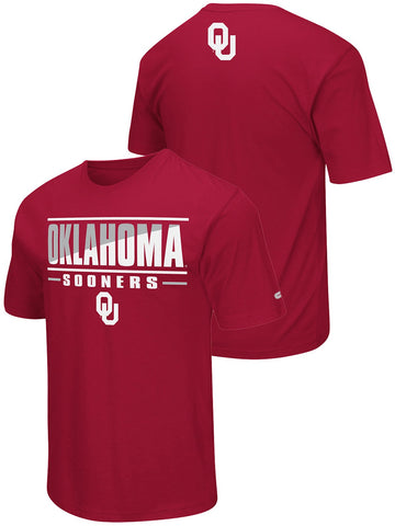 Shop Oklahoma Sooners Colosseum Red Lightweight Breathable Active Workout T-Shirt