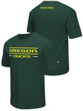 Oregon Ducks Colosseum Green Lightweight Breathable Active Workout T-Shirt