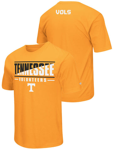 Shop Tennessee Volunteers Colosseum Orange Lightweight Active Workout T-Shirt