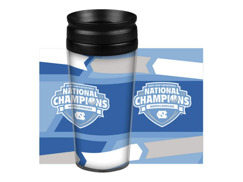 Shop North Carolina Tar Heels 2017 NCAA Basketball Champions Travel Mug Tumbler