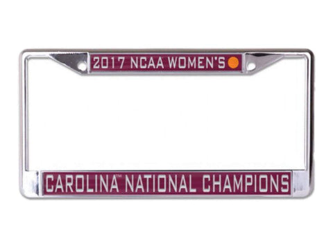 Shop South Carolina Gamecocks 2017 NCAA Women's Champions Inlaid License Plate Frame - Sporting Up