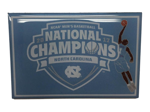 Shop North Carolina Tar Heels 2017 NCAA Basketball Champions Refrigerator Magnet