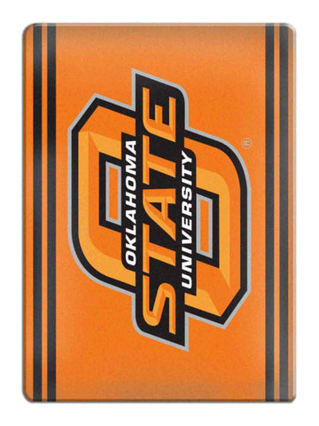 Shop Oklahoma State Cowboys NCAA Boelter Brands Orange Ceramic Refrigerator Magnet