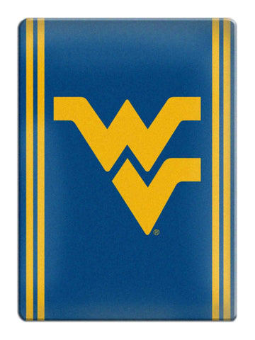 Shop West Virginia Mountaineers Boelter Navy & Yellow Ceramic Refrigerator Magnet