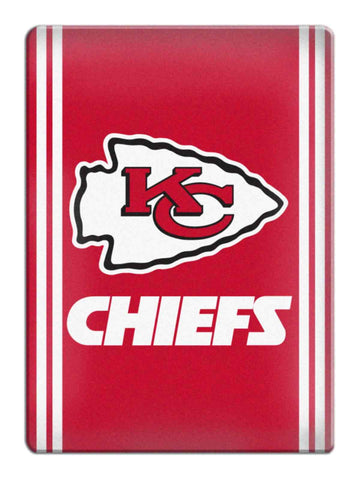 Kansas City Chiefs NFL Boelter Brands Red & White Ceramic Refrigerator Magnet