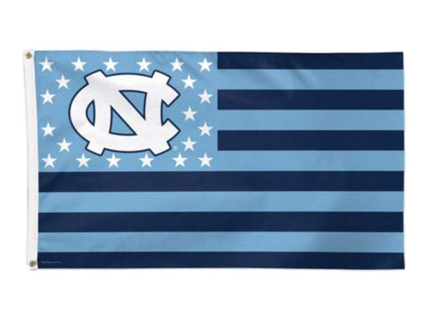 Shop North Carolina Tar Heels NCAA WinCraft Stars and Stripes Deluxe Flag (3' x 5') - Sporting Up