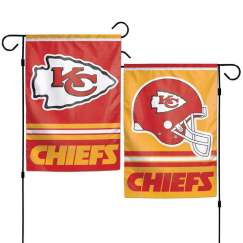 Kansas City Chiefs NFL WinCraft Red & Yellow 2-Sided Vertical Garden Flag