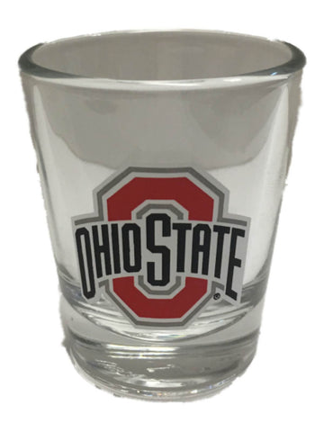 Shop Ohio State Buckeyes Boelter Brands Clear with Team Colors Logo Shot Glass (2oz)