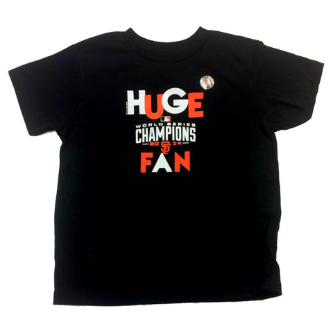 San Francisco Giants SAAG YOUTH 2014 World Series Champs Huge Fan T-Shirt