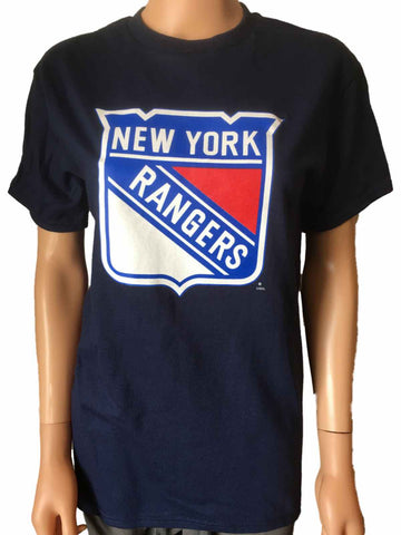 New York Rangers SAAG WOMEN Navy 100% Cotton Short Sleeve T-Shirt