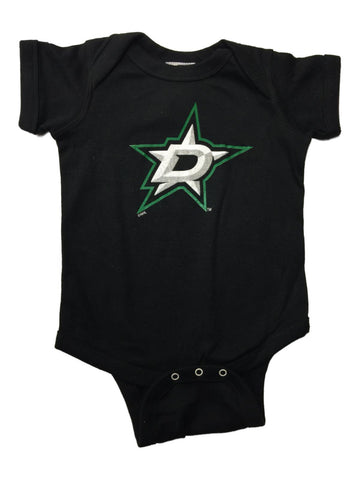 Dallas Stars SAAG INFANT BABY Unisex Black Lap Shoulder One Piece Outfit