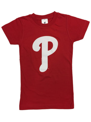 Shop Philadelphia Phillies SAAG YOUTH Girls Red Short Sleeve 100% Cotton T-Shirt