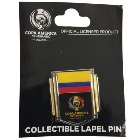 Shop Copa America Centenario USA 2016 Wincraft Yellow Blue Red Collectible Lapel Pin
