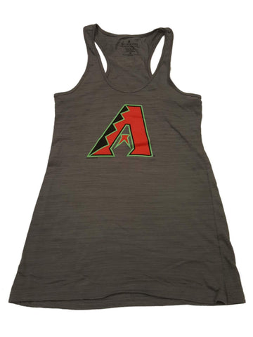 Shop Arizona Diamondbacks SAAG WOMENS Gray Sleeveless Racerback Tank Top
