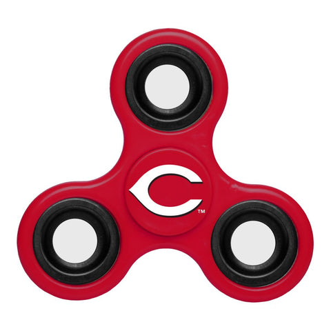 Shop Cincinnati Reds MLB Red Three Way Diztracto Fidget Hand Spinner - Sporting Up