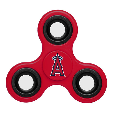 Los Angeles Angels MLB Red Three Way Diztracto Fidget Hand Spinner - Sporting Up