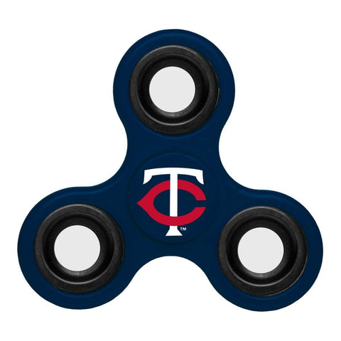 Shop Minnesota Twins MLB Navy Three Way Diztracto Fidget Hand Spinner - Sporting Up