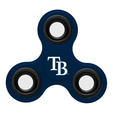 Shop Tampa Bay Rays MLB Navy Three Way Diztracto Fidget Hand Spinner