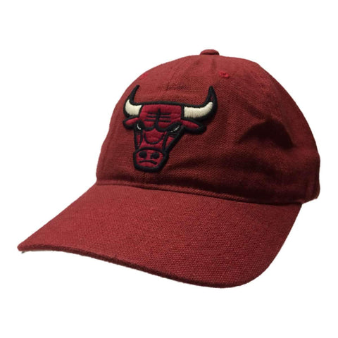 Shop Chicago Bulls Mitchell & Ness Dark Red Adjustable Snapback Relax Hat Cap - Sporting Up